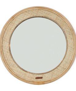Riviera Maison Natural weave round mirror dia 68cm
