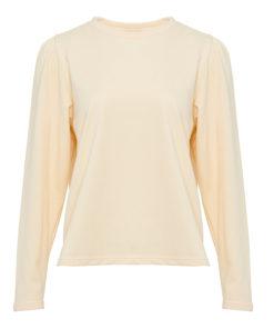 Flow sweatshirt, yellow