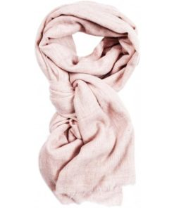 Mie scarf, pale rose