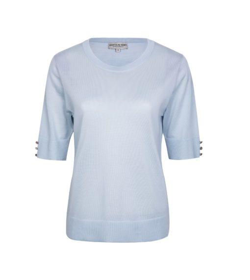 PAT sweater, ice blue