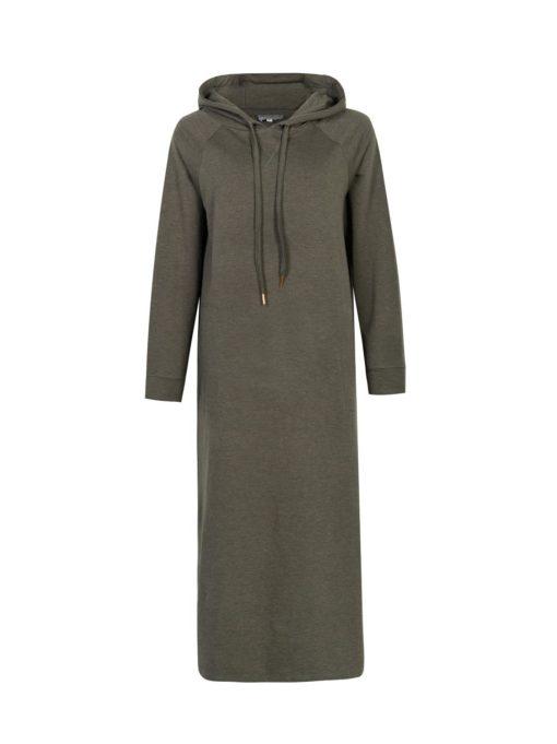 Gail hood dress, army