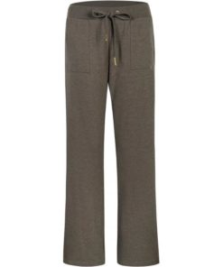Sleak flaired pants, army