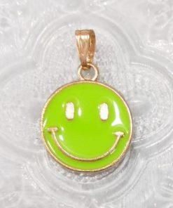 Smiley, lys grønn