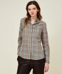 Lexington Emily Twill Checked Shirt, Multi Check