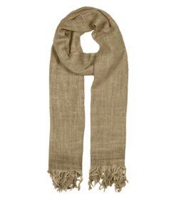 BasicTT Wool Scarf, Ermine