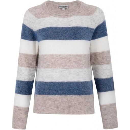 Mandy sweater, blue stripe