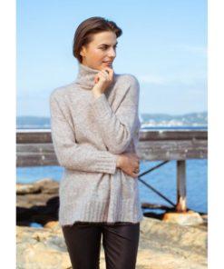 Cindy sweater, fudge