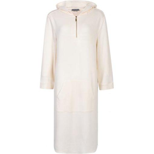 Babe hood dress, cream
