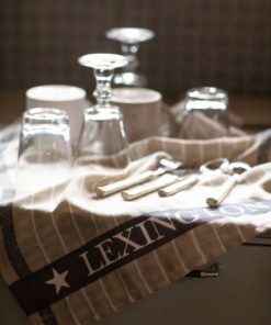 Organic Cotton/Linen Jacquard Kitchen Towel