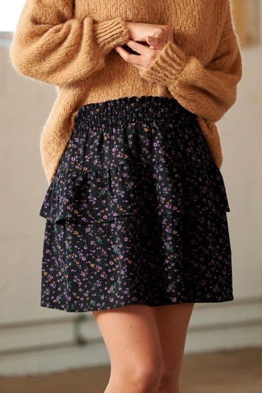 Zues skirt, lilac/orange mix