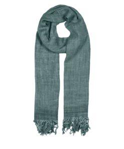 Basic TT Wool Scarf, north blue