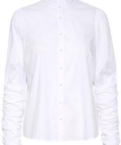 Kavinnie shirt blouse, white