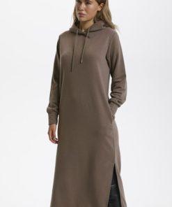 Kaswella sweat dress, morel