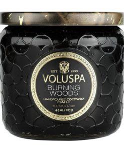 Voluspa 40t, burning woods