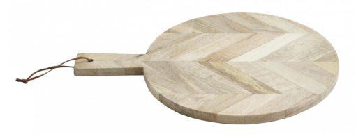 Chopping board, herringbone, wood, S