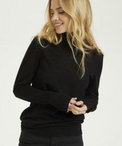 KAmerin Rollneck Pullover, black