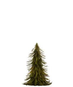 Gran fjær grønn 40 cm
