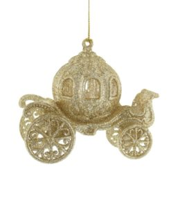 Askepottvogn i gull, 12 cm