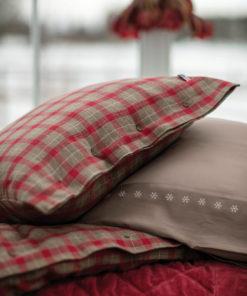 Lexington Checked Cotton Flannel Pillowcase