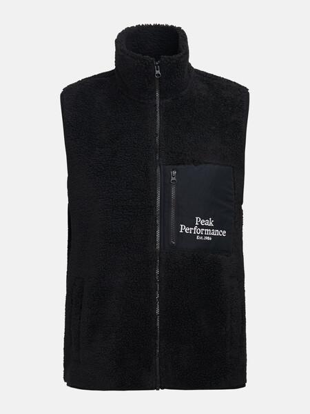 Original Pile Zip Vest