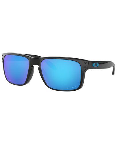 Oakley HOLBROOK Polished Black w/ PRIZM Sapphire