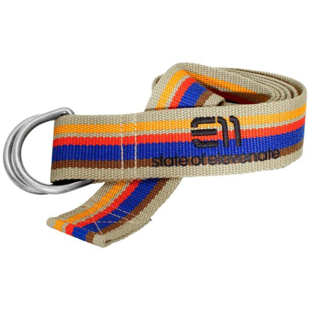 Elevenate Striped belt