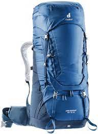 Deuter  Aircontact 60 + 10 SL steel-midnight