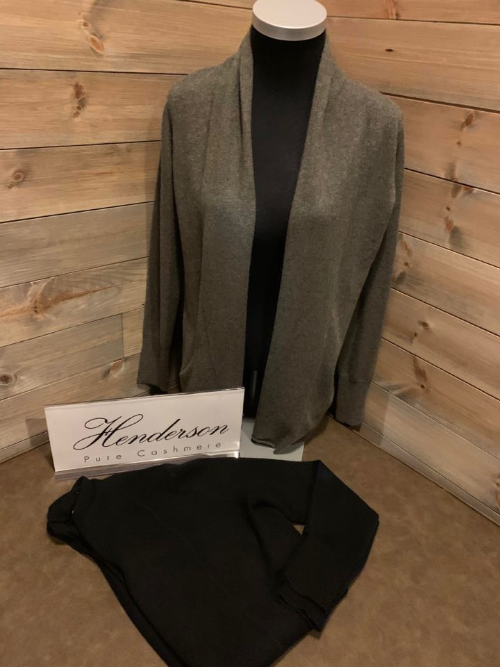 Henderson Shawl collar cardigan