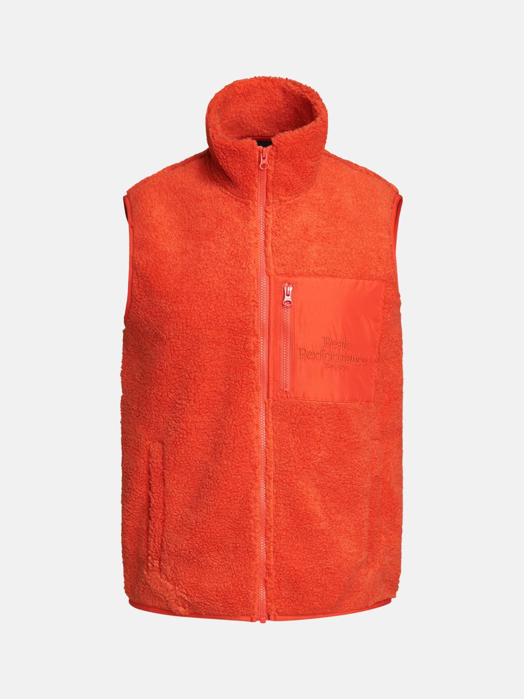 Peak Performance  M Original Pile Zip Vest