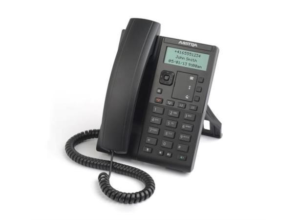 Mitel 6863i uten AC adapter- en rimelig 2-linjers SIP  Telefon