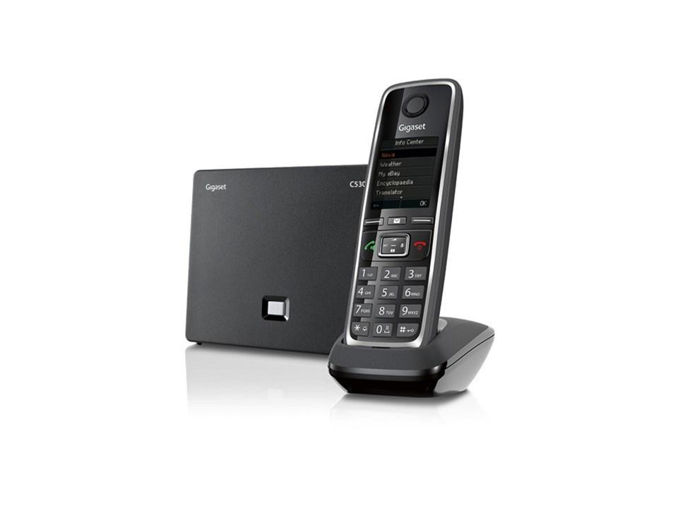 Gigaset C 530IP -SIP/IP DECT  håndsett med base