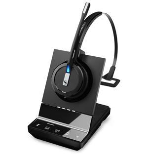 Sennheiser SDW 5033  Et trådløst DECT hodesett for PC og Smarttelefon-Svart