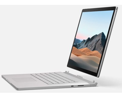 "Microsoft Surface Laptop 3.  13,5"" berøringsskjerm - Platina"