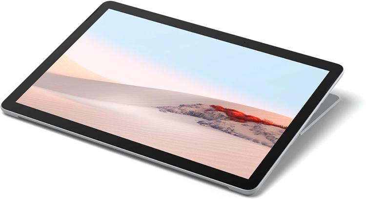"""Microsoft Surface Go 2. 10.5"""" berøringsskjerm - Sølv"""