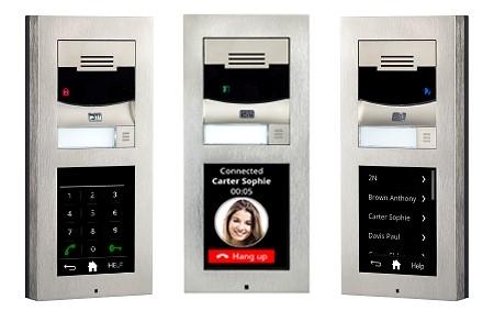 VERSO IP porttelefon med HD-kamera og touchdisplay