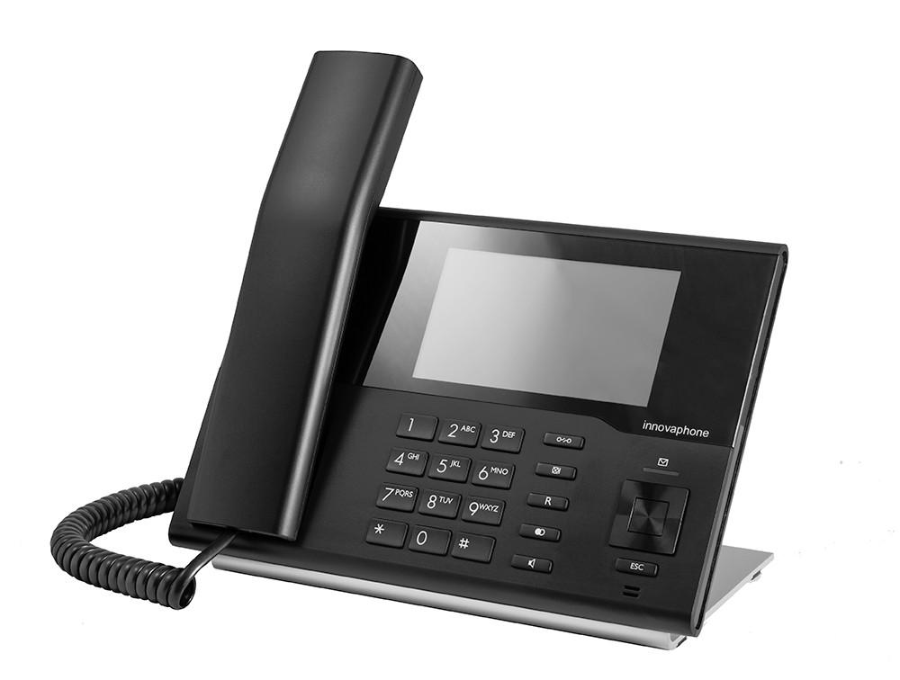 Innovaphone IP232 med touch fargeskjerm. Sort.