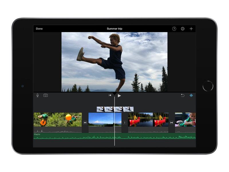 Apple 10.5 - inch iPad Air Wi-Fi- 64 GB.  Romgrå
