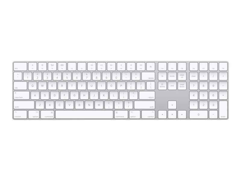 Apple Magic Keybord. Tastatur. Sølv.