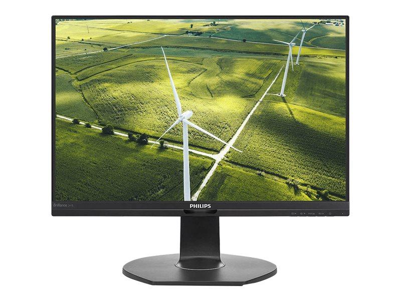"""Philips LED-skjerm. 24""""  - Svart"""
