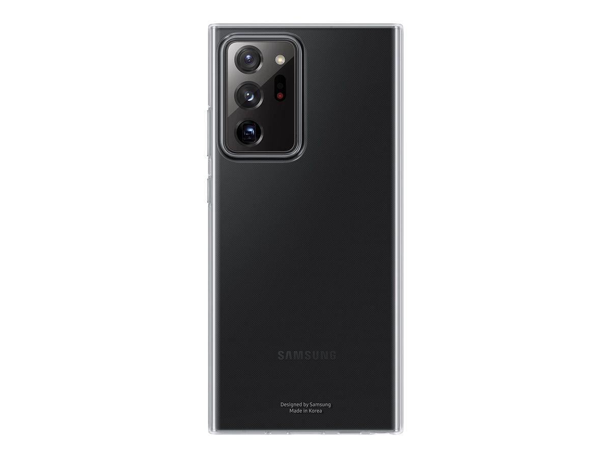 Baksidedeksel for Samsung Note 20 Ultra - Gjennomsiktig