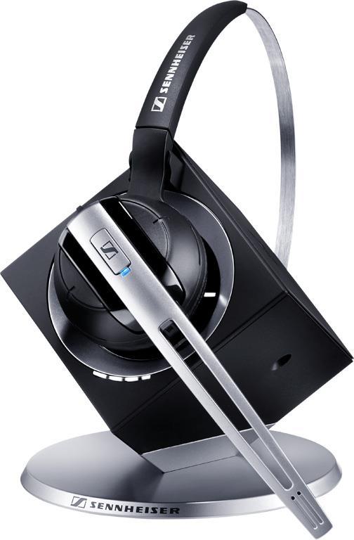 Sennheiser DW Office -et trådløst støydempende DECT hodesett for telefon & Skype - 24. mnd. garanti