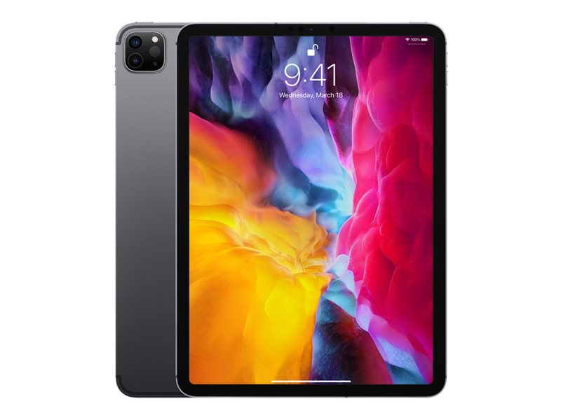 "Apple 11-inch iPad  Pro. 11"" - 256 GB -4G - romgrå. 24 mnd. garanti"