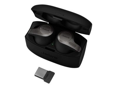 Jabra Evolve 65T Link - trådløse øretelefoner med mikrofon - 24 mnd garanti
