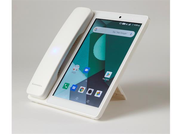 Kommunica Kaerdesk V9 4- bordtelefon -hvit - 24 mnd garanti