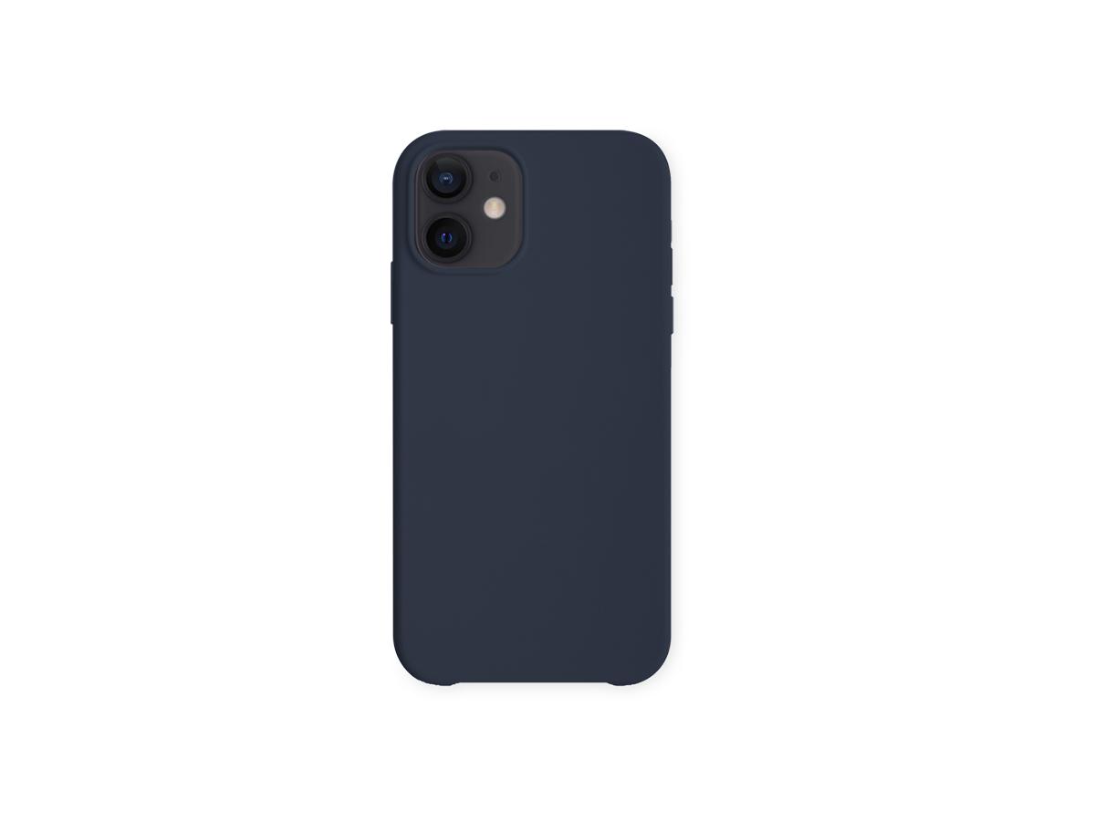 Baksidedeksel for iPhone 12- silikon - blå