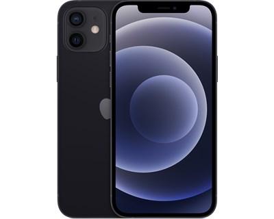 iPhone 12 Mini 64GB - 5G - svart - 24 mnd garanti
