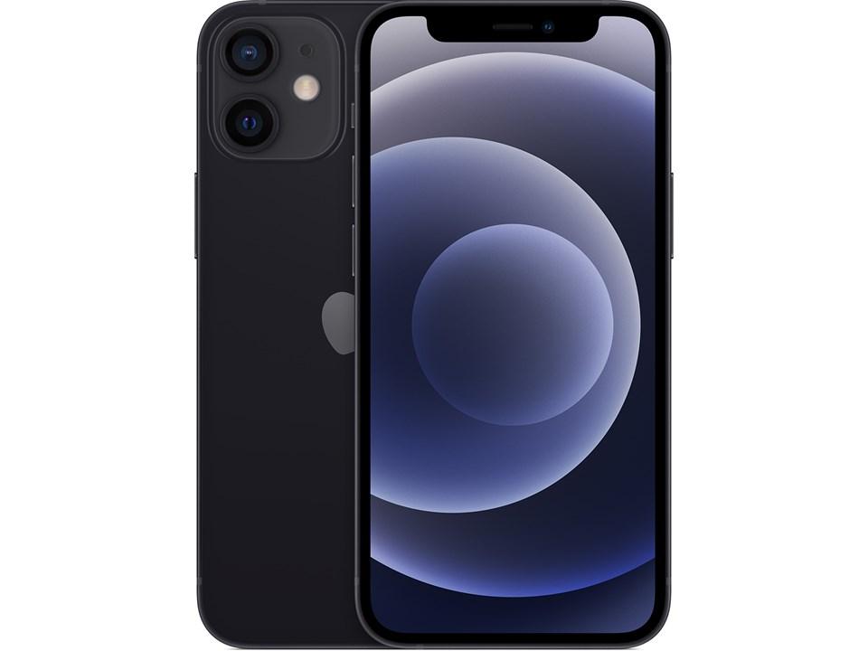 iPhone 12 Mini 128GB -5G- svart - 24 mnd garanti