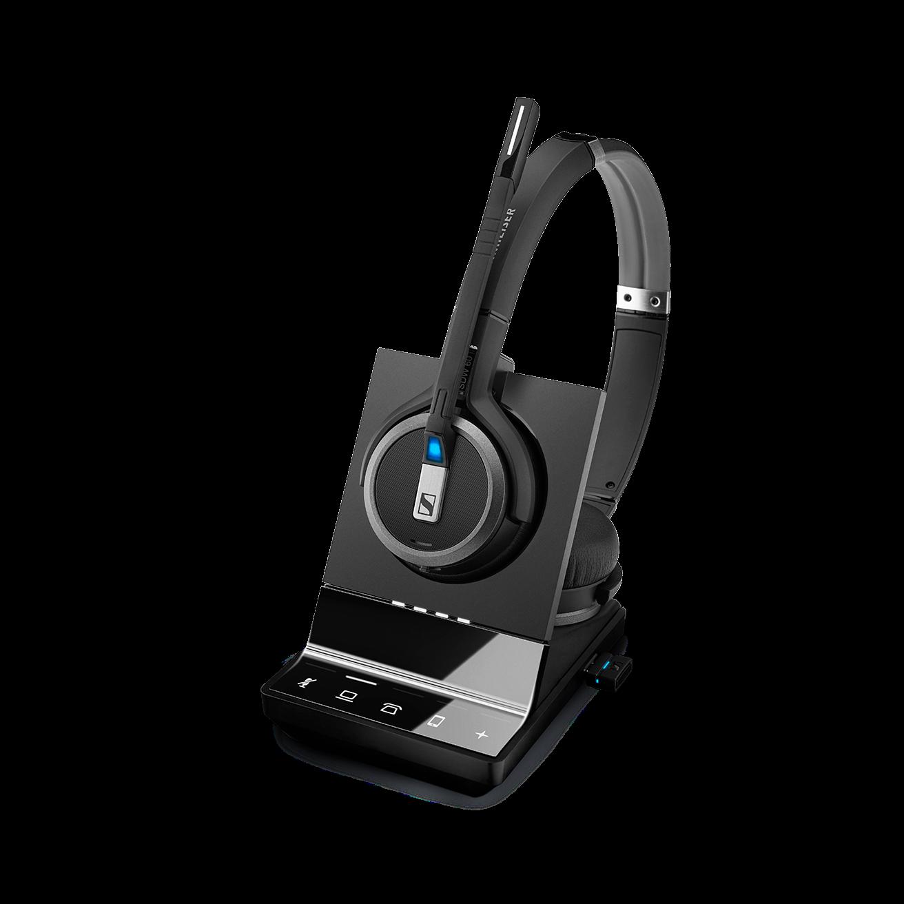 Sennheiser - SDW 5066 - hodesett for PC, telefon og mobil - Spesial tilbud