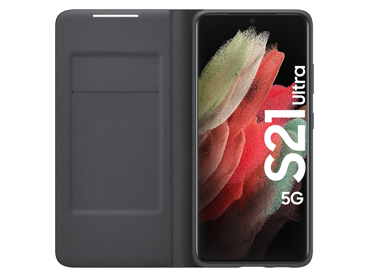 Walllet for Samsung S21 Ultra - Svart - eksklusiv variant