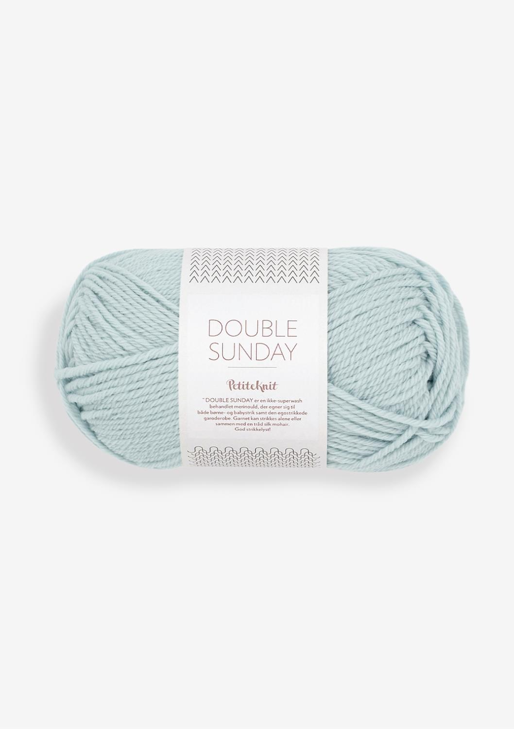 PK DOUBLE SUNDAY,Pale Blue, 5930